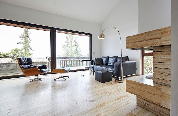 Zimmer in Stuttgart Feuerbach mit Tal/Weitblick - Stuttgart - Casa