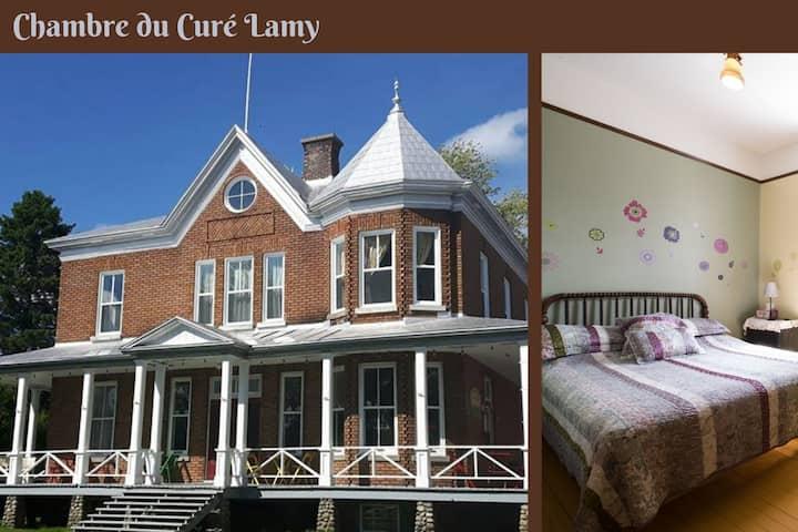 Chambre du Curé Lamy