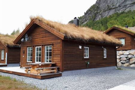 Sentralt beliggende hytte på Brokke.