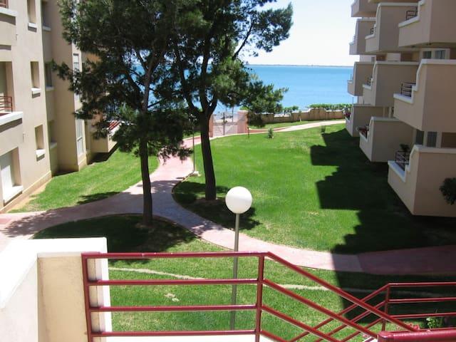 1ª LINEA DE MAR Y VISTA FANTASTICA - L'Ampolla - Appartement