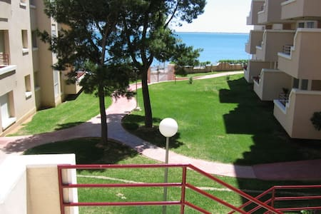 1ª LINEA DE MAR Y VISTA FANTASTICA - L'Ampolla - Apartmen