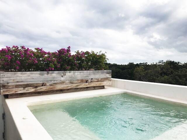 MANDALA - Roof Garden Suite in Aldea Zama - Tulum