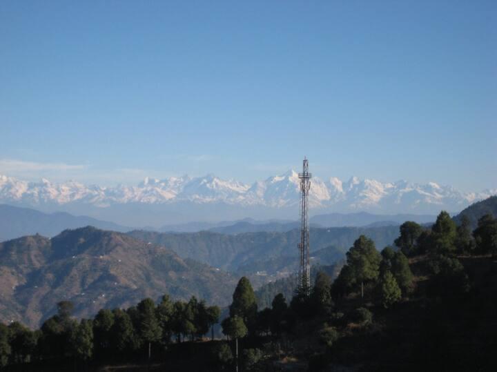 Villa at Ramgarh (Nainital) for 8