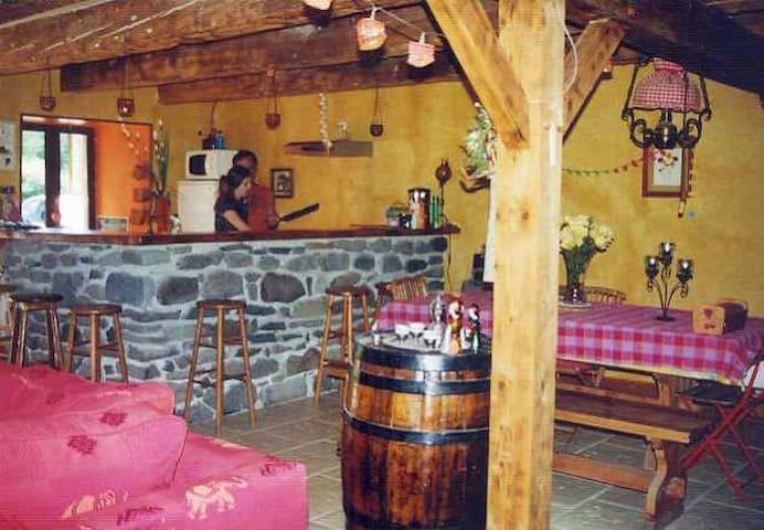 Charmante et chaleureuse fermette - Égliseneuve-d'Entraigues - Bed & Breakfast