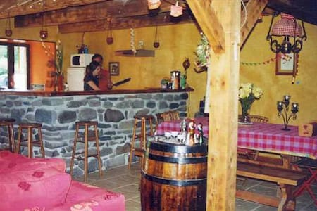 Charmante et chaleureuse fermette - Égliseneuve-d'Entraigues
