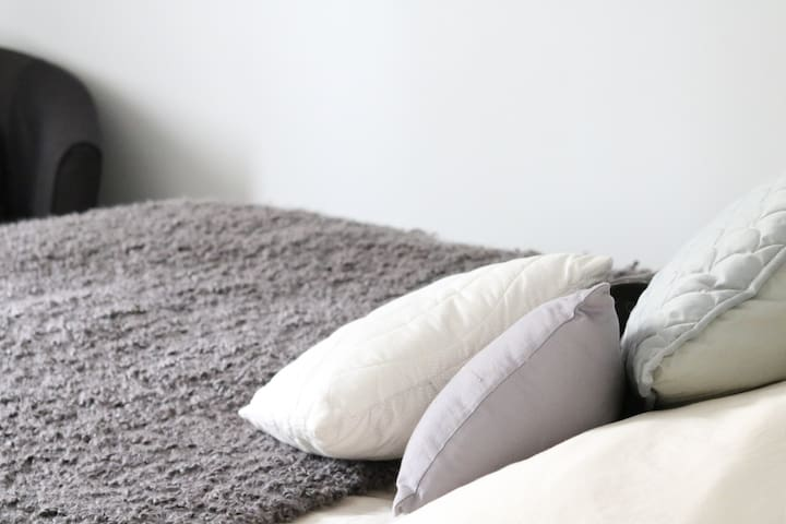 Crisp, clean sheets ..and a quiet comfortable and peaceful sleep