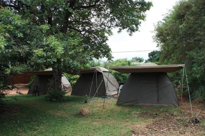 Nxabii Cottages - Camping in Kasane/Kazungula