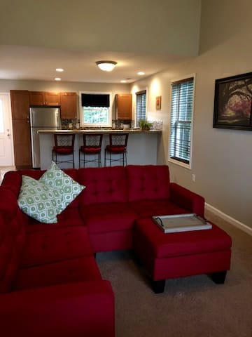 Private End Unit Town Home in