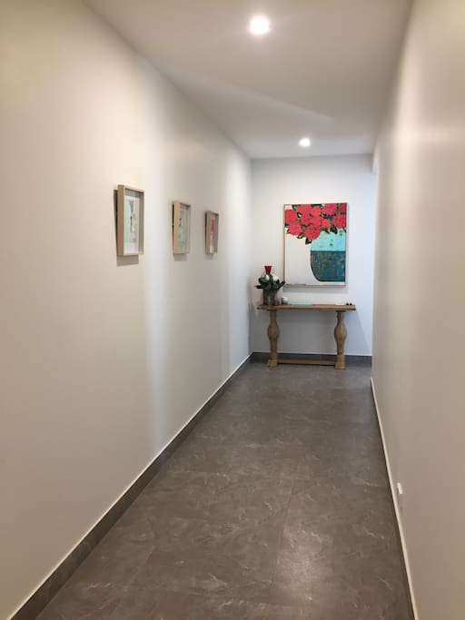 Entry inside the Apartment