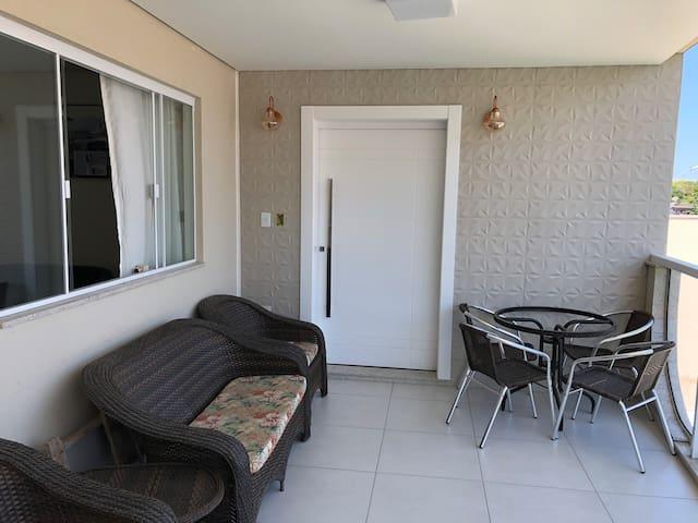 Apartamento em Itapema praia. 7 pessoas. 2 quartos
