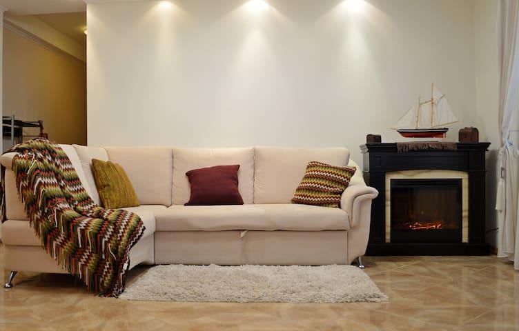 2 bedrooms & fireplace apartment - Kiev - Daire