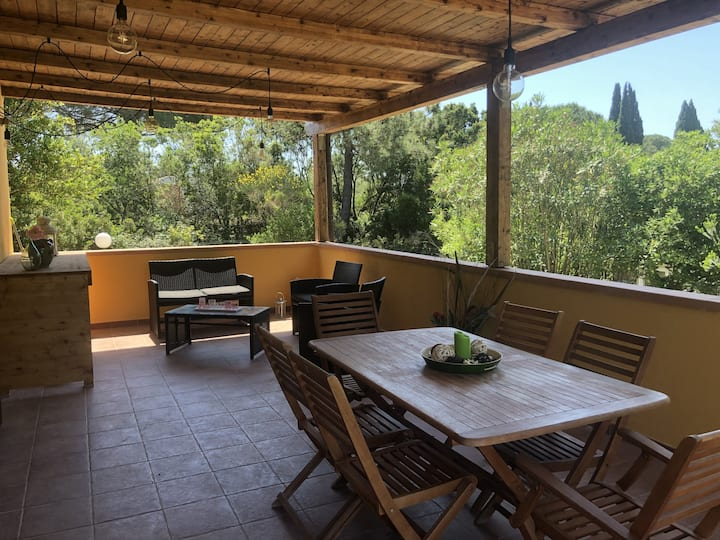 Villetta Lampone with Wi-Fi, Air Conditioning, Garden & Terrace; Pets Allowed upon Request