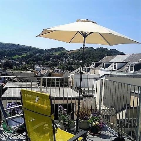 Seaside Flat in the heart of historic Ilfracombe