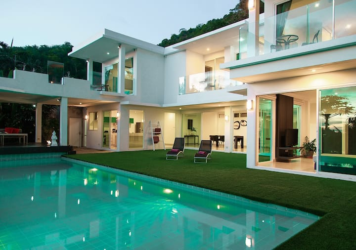 Luxury Villas 4 br.+1 daysleep 10people