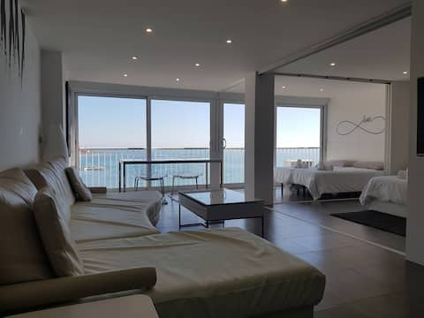 Loft with amazing sea view