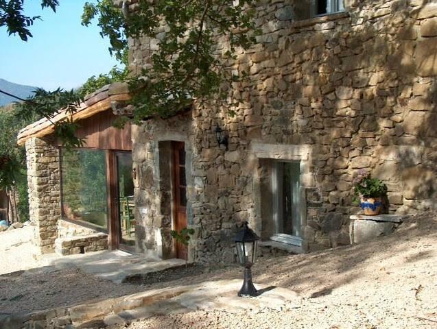 Les Pommiers au coeur de la montagne et la lavande - Teyssières - Домик на природе