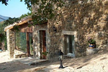 Les Pommiers au coeur de la montagne et la lavande - Teyssières
