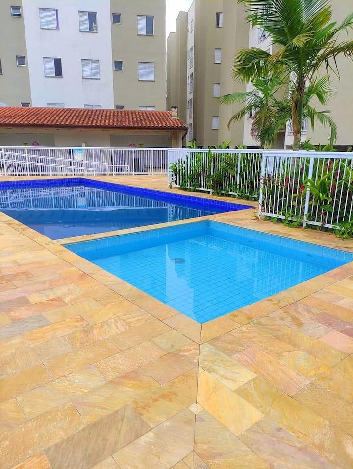 Apartamento com ótima localização em Ubatuba - SP