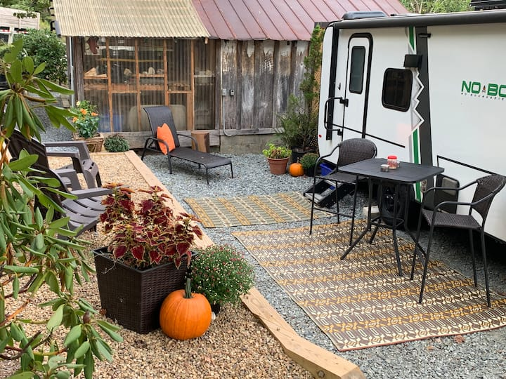 Glamping in the heart of Valle Crucis