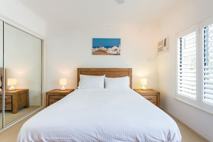 Main bedroom - fully air-conditioned