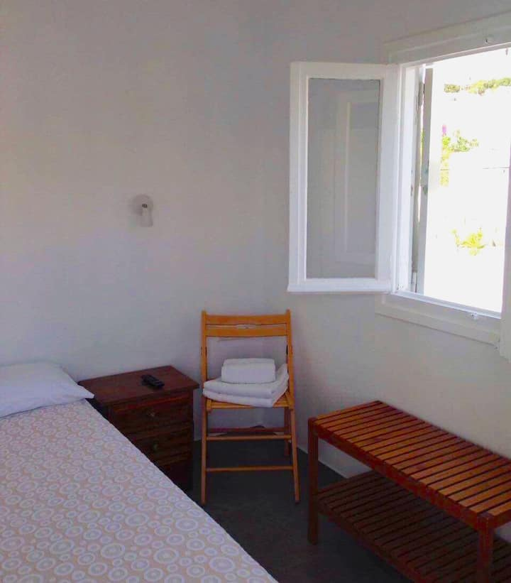 Rooftop double room in Mykonos center
