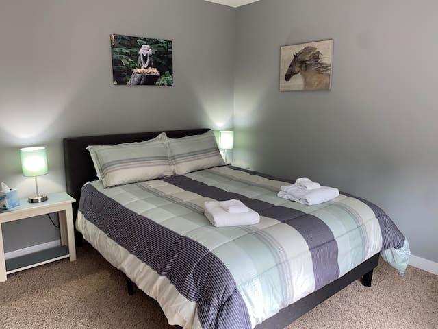 Budda Bedroom (Queen bed)