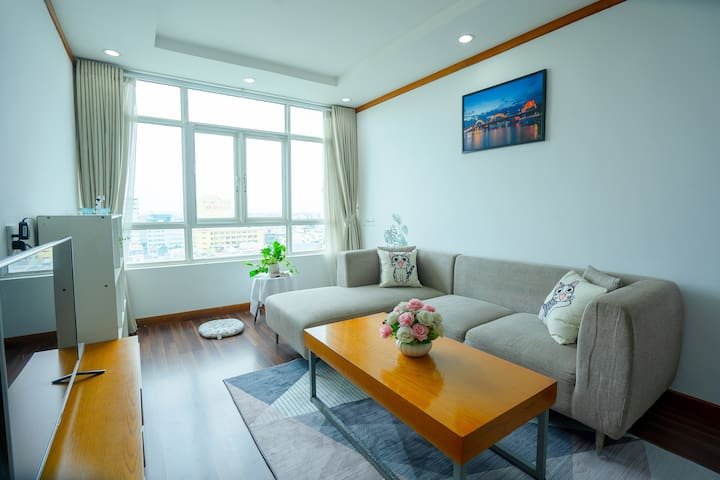 ❤️SPACIOUS APT⭐3 BR❤️DANANG CENTER ✅FREE PICKUP