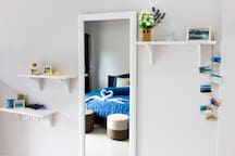 Dressing table with big mirror