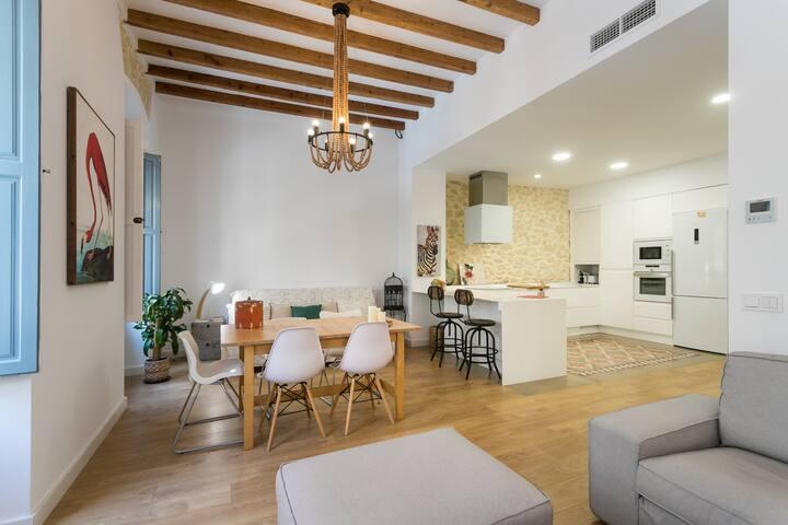 New apartment in city center Alicante