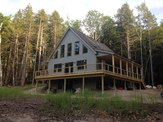 Merrymeeting Lake- New 3bedrm Home-Private Setting - New Durham - Haus