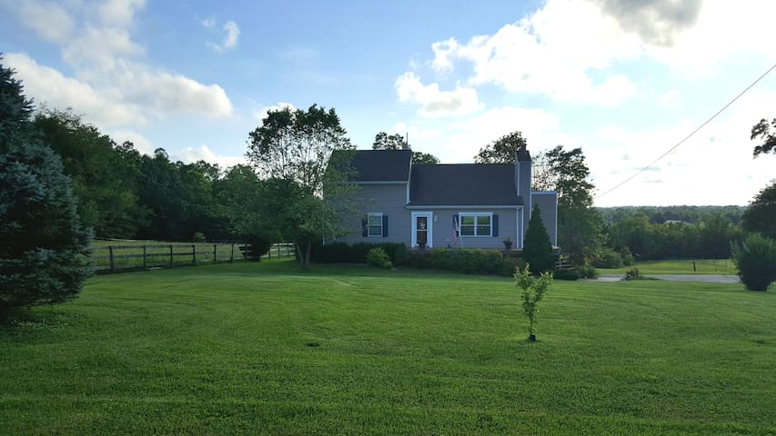 Spacious Country home on beautiful acreage