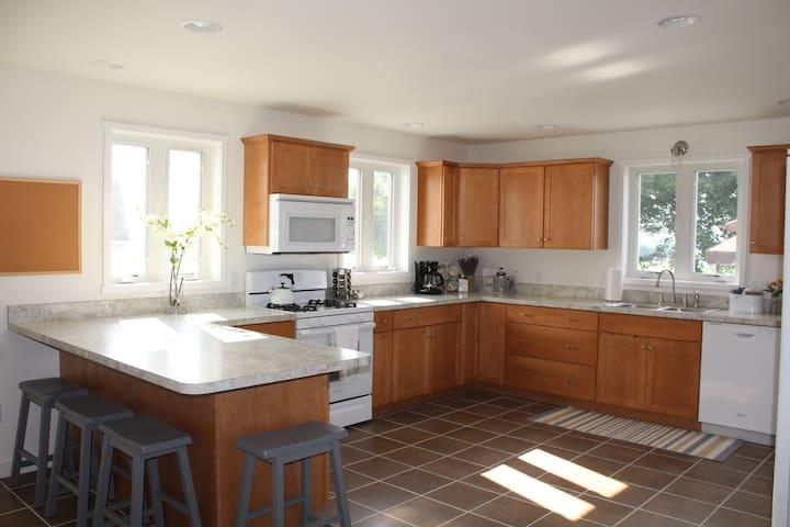 Spacious Guesthouse with Farmland Views