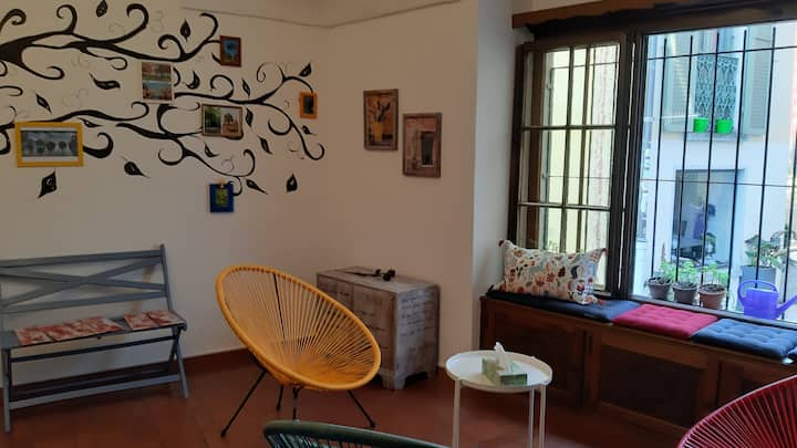 Double room with breakfast @ Home Hostel Locarno