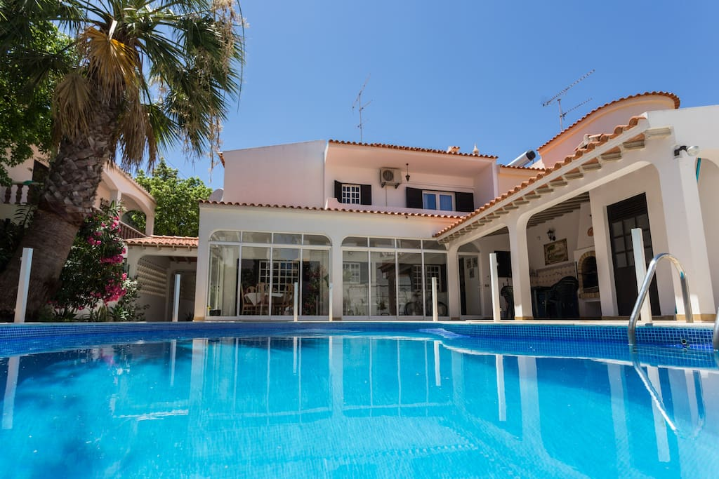 Maison avec piscine priv e algarve maisons louer - Location maison piscine portugal ...