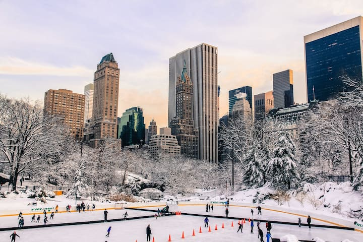 Ice Skating in Central Park!