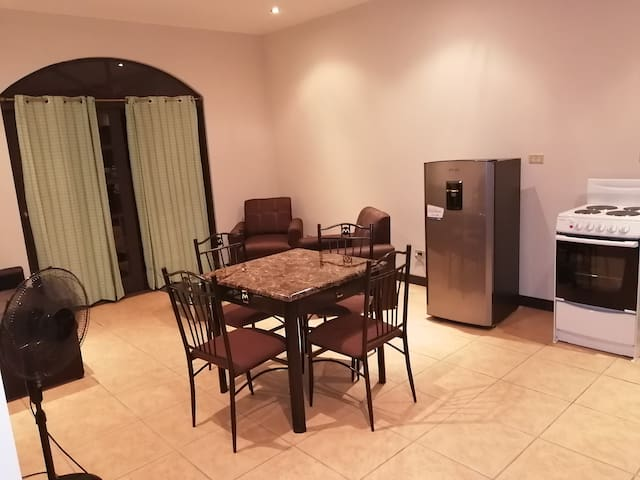 One bedroom apartment fully furnished