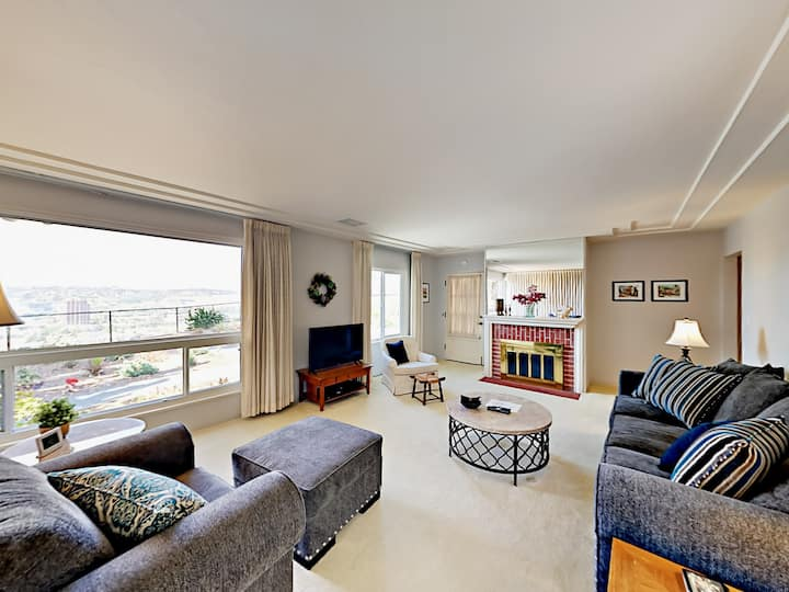Elegant Home with Large Backyard & Ocean Views