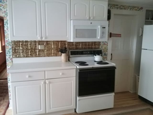 Kitchen stove side