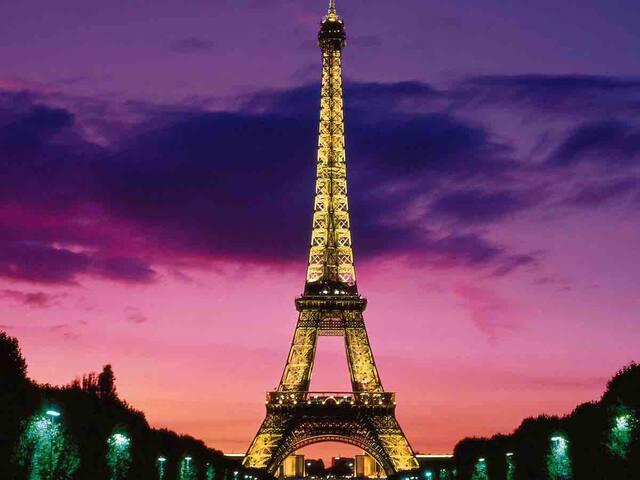 PARIS EIFFEL TOWER,CHAMPS ELYSEE