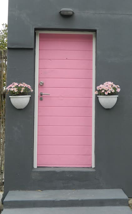 The Pink Door!