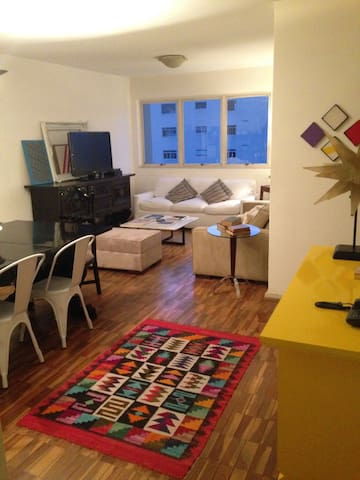 Room in cosy apartment close to the Vila Madalena