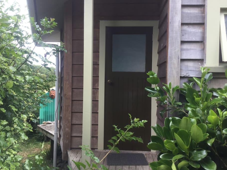 Front door of Chalet