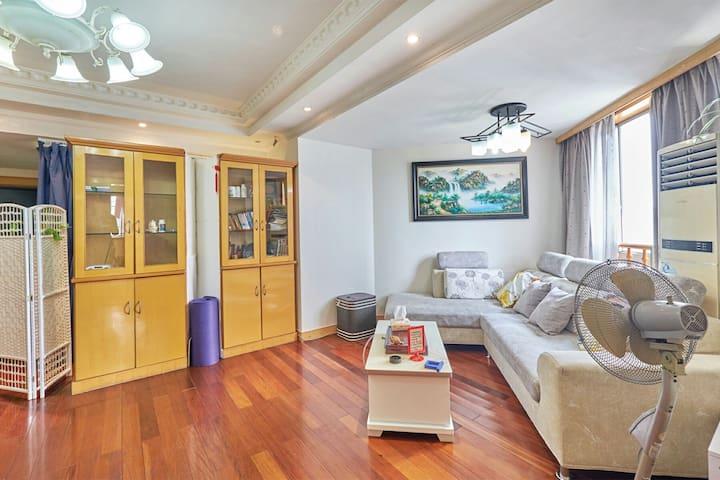 步行西湖音乐喷泉/次卧带阳台a市中心 - Hangzhou - Apartemen