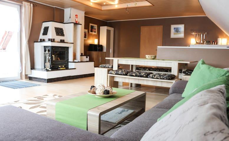Ferienwohnung bei Neubrandenburg, Ihlenfeld - Neuenkirchen - Apartamento