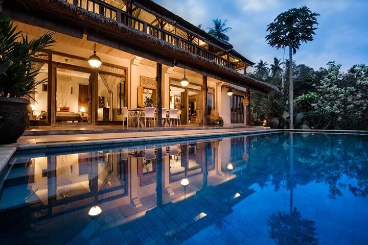 Villa Sagitta: Real peace & tranquility near Ubud
