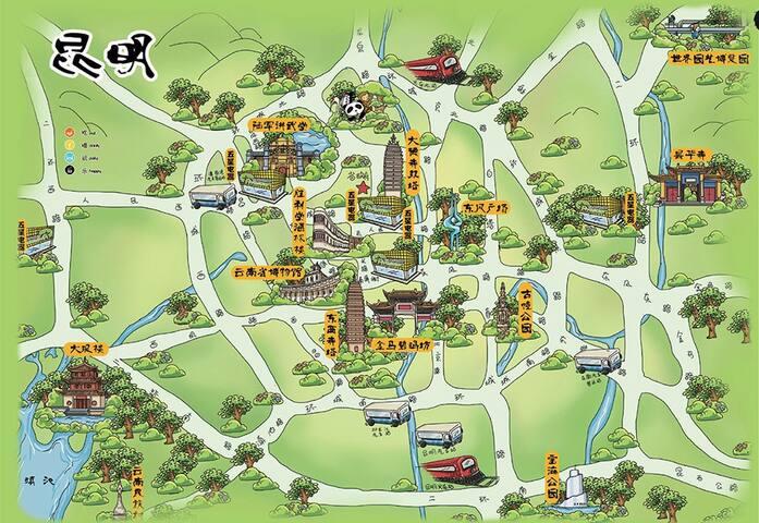 Jolin秋玲_昆明市的旅行指南