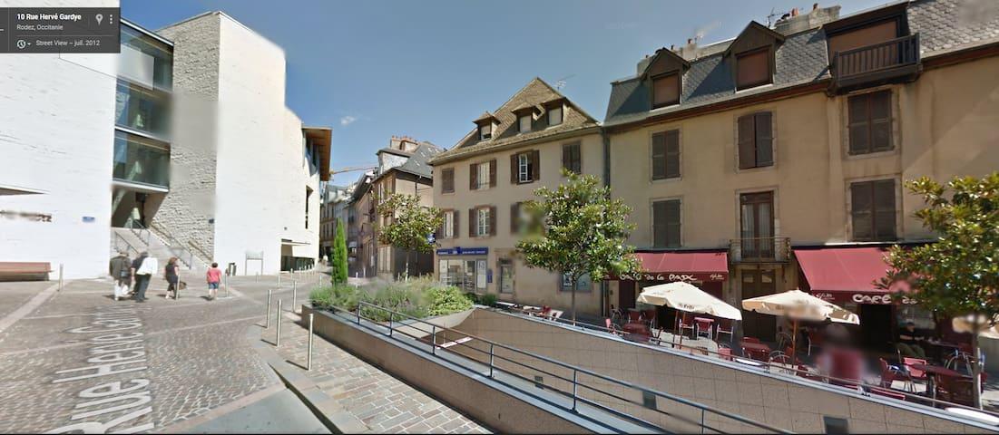 Charmant appartement 60m² plein centre de Rodez!