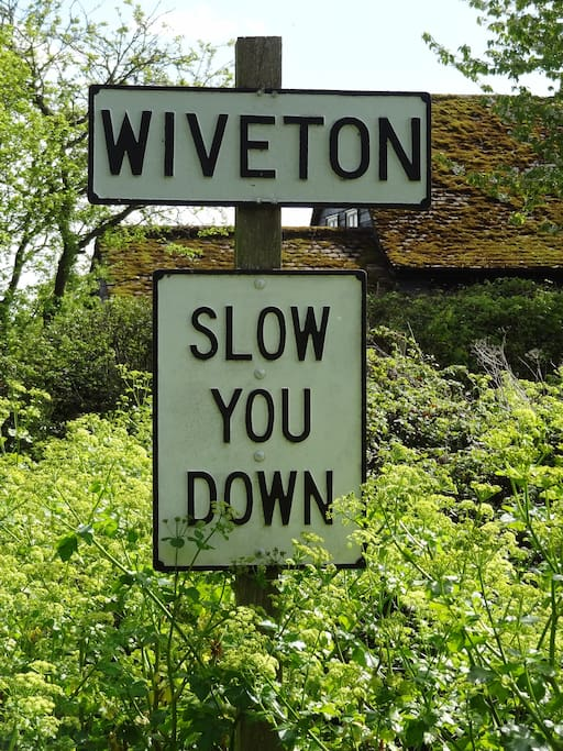 You have now arrived at Wiveton - relax and enjoy your stay!