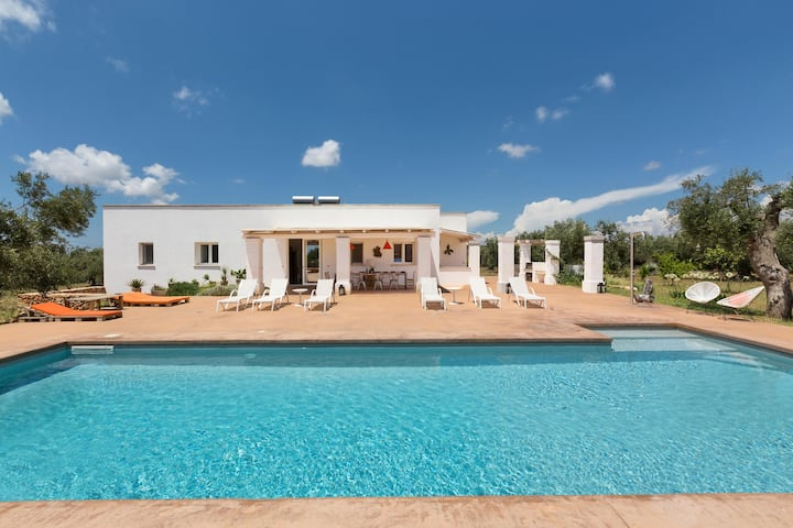 Villa with pool in Puglia Salento