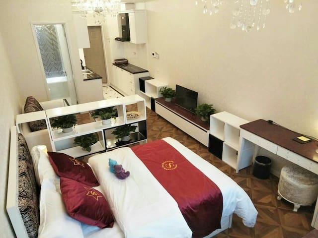 上海施家湾 悦达南郊华都 商务套房 单人间 大床房
